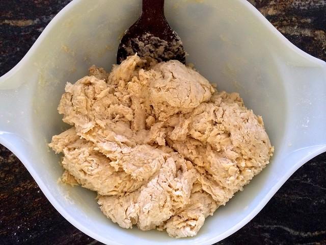 Dough Mixed But Shaggy