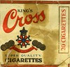King's Cross gold medals, super quality cigarettes, 20 pack.