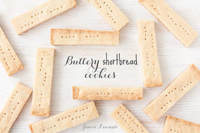 Recipe shortbread cookies using rice flour