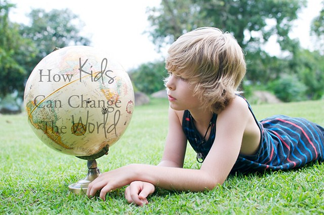kids can change the world