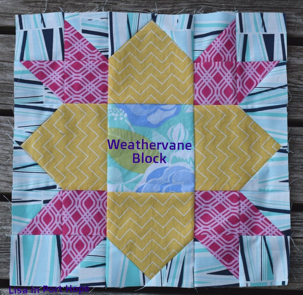 Weathervane block - June