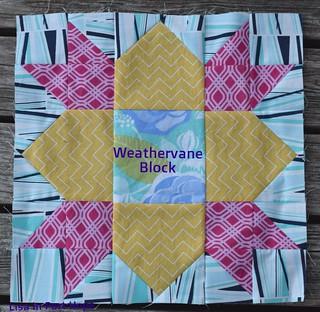 Weathervane block - June