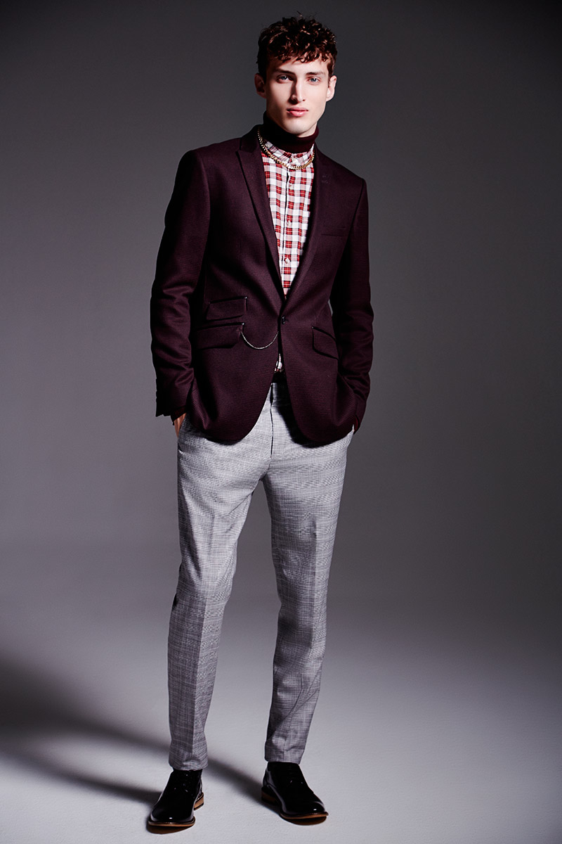 Charlie France0303_River Island's Fall Winter 2014 Lookbook(sight Management Studio)