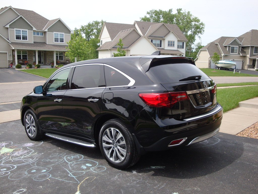 Our Black Black 2014 Mdx Acurazine Acura Enthusiast