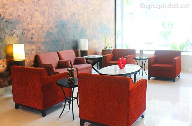 B Hotel in Alabang Lobby