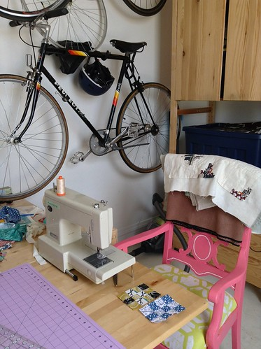 My sewing nook.