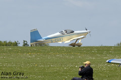 G-CDXT VAN'S RV-9 PFA 320-14376 PRIVATE -Sywell-20130601-Alan Gray-IMG_9266