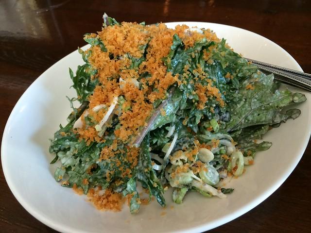 Lacinato kale salad - Stoneburner