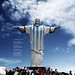 Cristo Redentor-Argentina Brasil 2014 by Leonardo Glusman לאונרדו גלוסמן