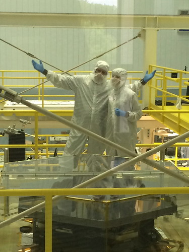Amber Straughn and Mike McClare From the Cleanroom
