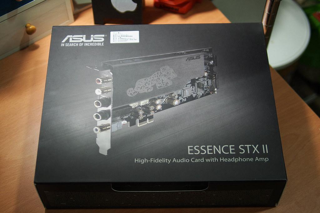Essence STX II|ASUS 神獸卡