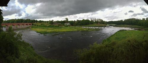 panorama clouds river latvia mp venta 219 313 kuldīga kuldīgasnovads