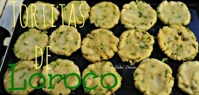 Tortitas de Loroco