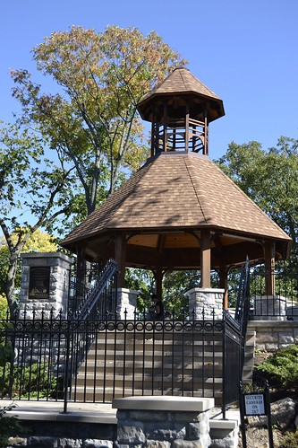 Gazebo at Woodland Cemetary