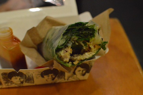 Miss Chu Tuckshop: Pork & pate rice paper roll