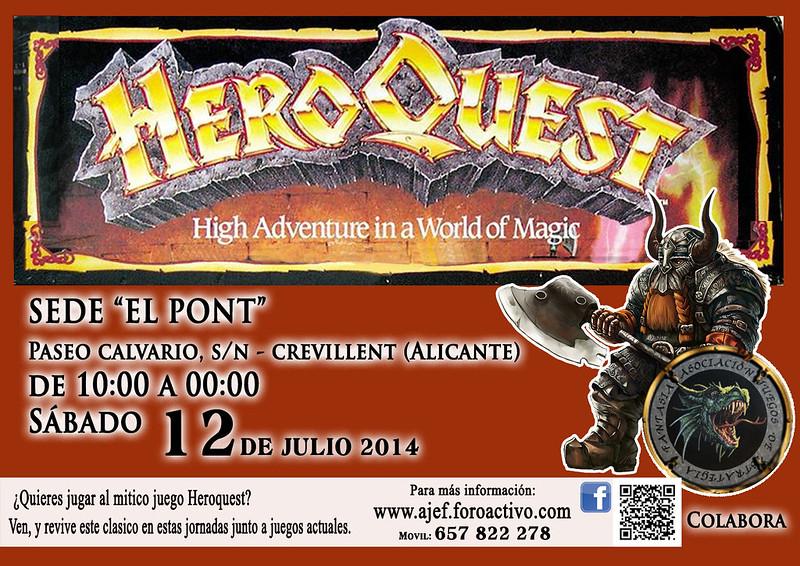 Jornada temática Heroquest 12 de Julio 14470468933_cd6e2c8fc7_c