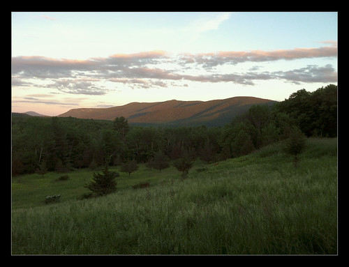 trees sunset mountains grass clouds landscape upstate deer hills newyorkstate catskills jewett iphone