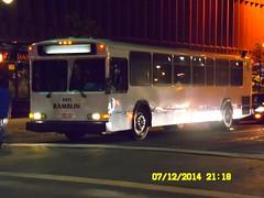 Ramblin Express (Ex- Denver RTD): 1994 Gillig Phantom [40-footer] (Diesel) #4105