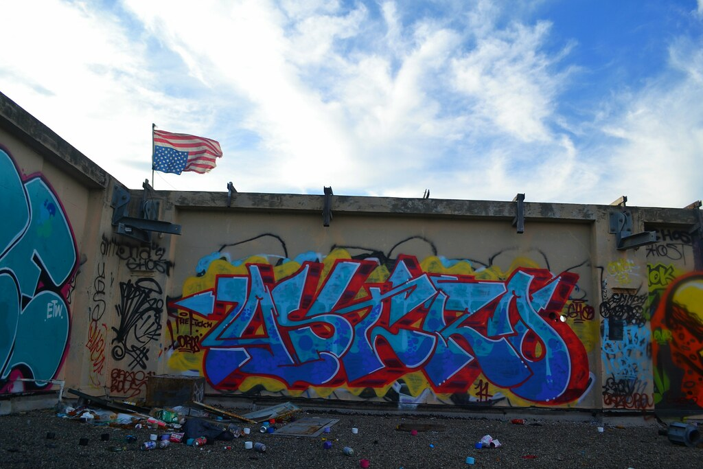 ASTRO, Graffiti, 640, Street Art, East Bay, TFL, LORDS