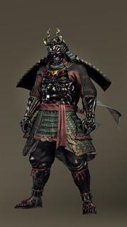 オリジナル鎧装備一式