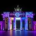 Berlin Leuchtet 2016 Brandenburger Tor by dietmar-schwanitz