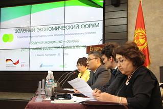 Green Economy Forum in Kyrgyzstan