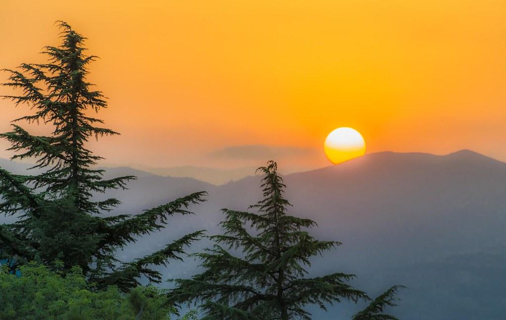 Sundown in Tbilisi