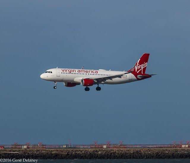 Virgin America Inc, N283VA, 2015 Airbus A320-214(WL), MSN 6787, FN 283,
