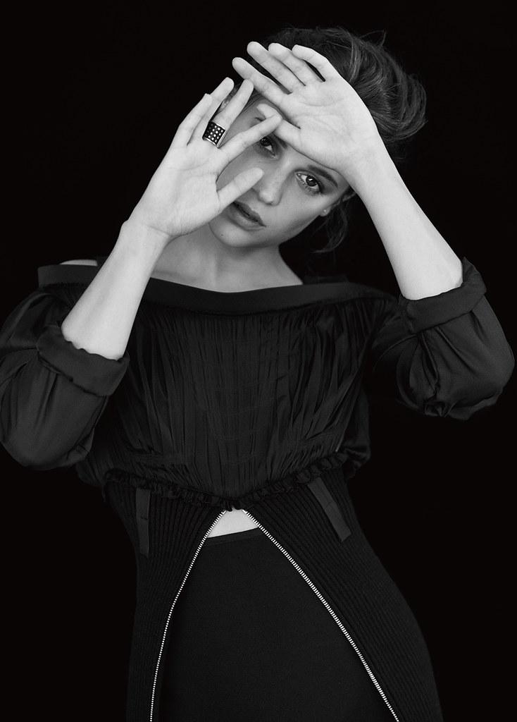 Алисия Викандер — Фотосессия для «Modern Weekly» 2016 – 3