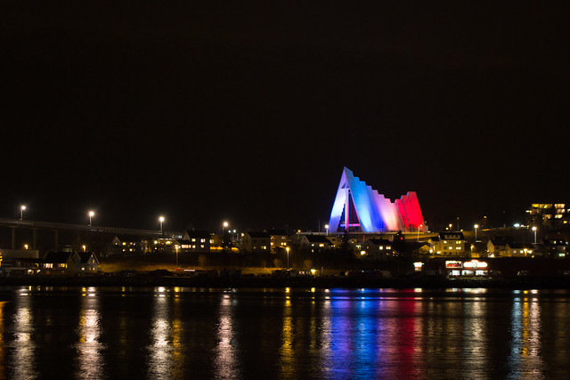 Paris support in Tromsø