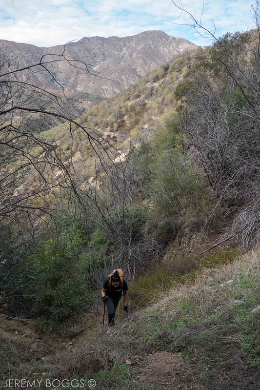 buells tunnel, san gabriel mountains, angeles national forest