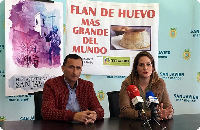 San Javier cocinará el flan de huevo más grande del mundo