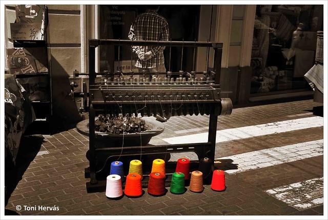 Màquina de teixir /Maquina de tejer