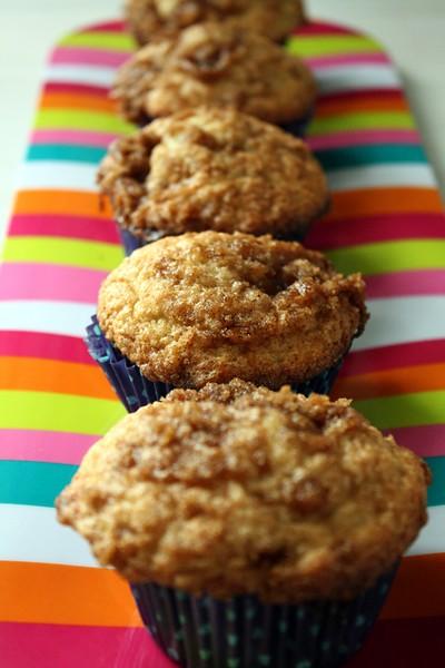 Banana Crumble Muffins
