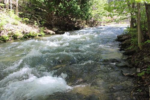 ontario canada runningwater manitoulinisland bridalfalls geo:country=canada geocode:method=googleearth geocode:accuracy=100meters