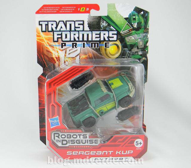 Transformers Sargeant Kup - Prime RID - caja