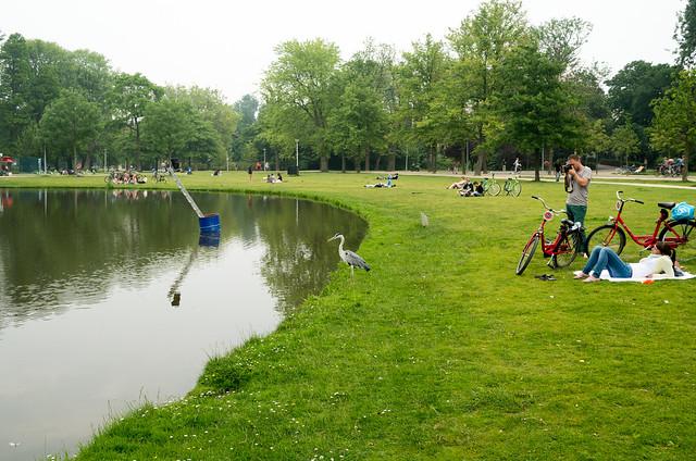 アムステルダム フォンデル公園