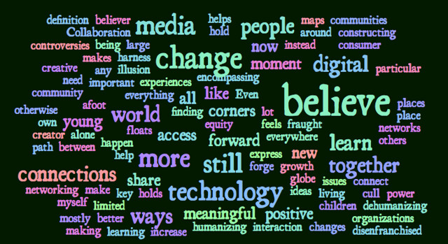 MOOC Credo WordCloud