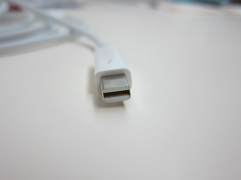 Apple Thunderbolt Cable (2m) - Thunderbolt Head