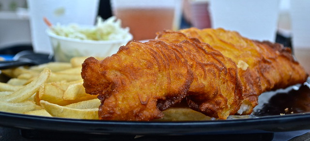 Fish and Chips dish