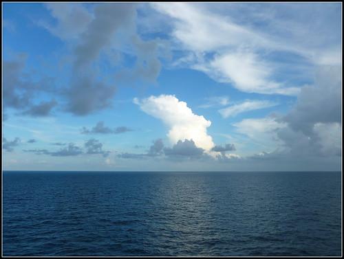 ocean cruise blue sky water clouds atlanticocean mygearandme panasonicdmcfh25