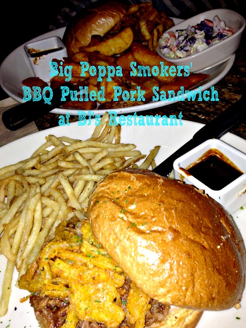 Big Poppa Smokers' BBQ Pulled Pork Sandwich at BJ's