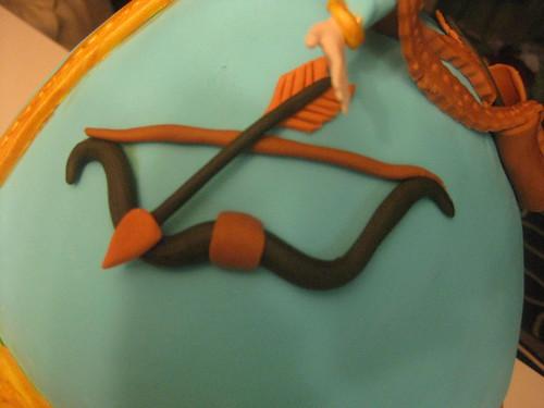 Brave Merida 3D Cake