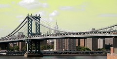 NYC 2013 062 Manhattan Bridge from Brooklyn Bridge