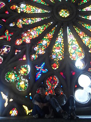symmetry, glass, stained glass,