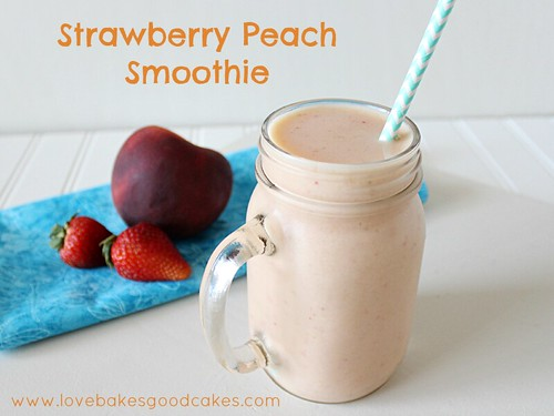 Strawberry Peach Smoothie 4