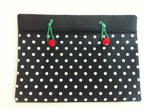 Ladybird pouch project