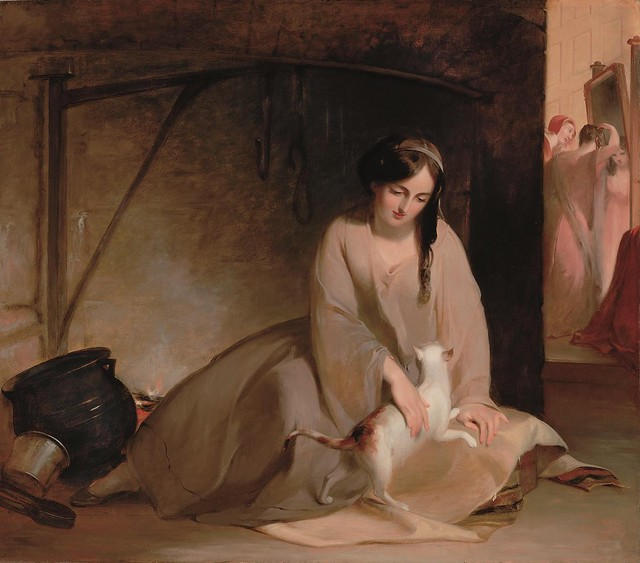 Thomas Sully: Cinderella at the Kitchen Fire