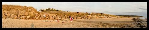 sunset panorama france praia beach landscape dunes normandie paysage plage manche sables cotentin leicam lespieux legrandlarge borderfx lerozel aposumicronm1290mmasph