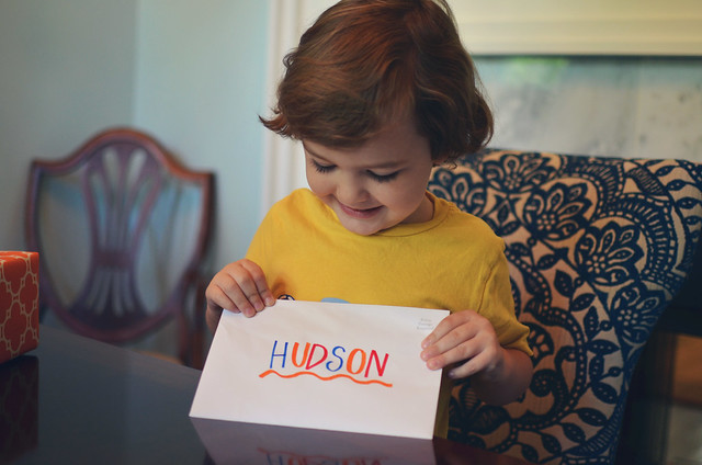 Hudson's 4th Birthday